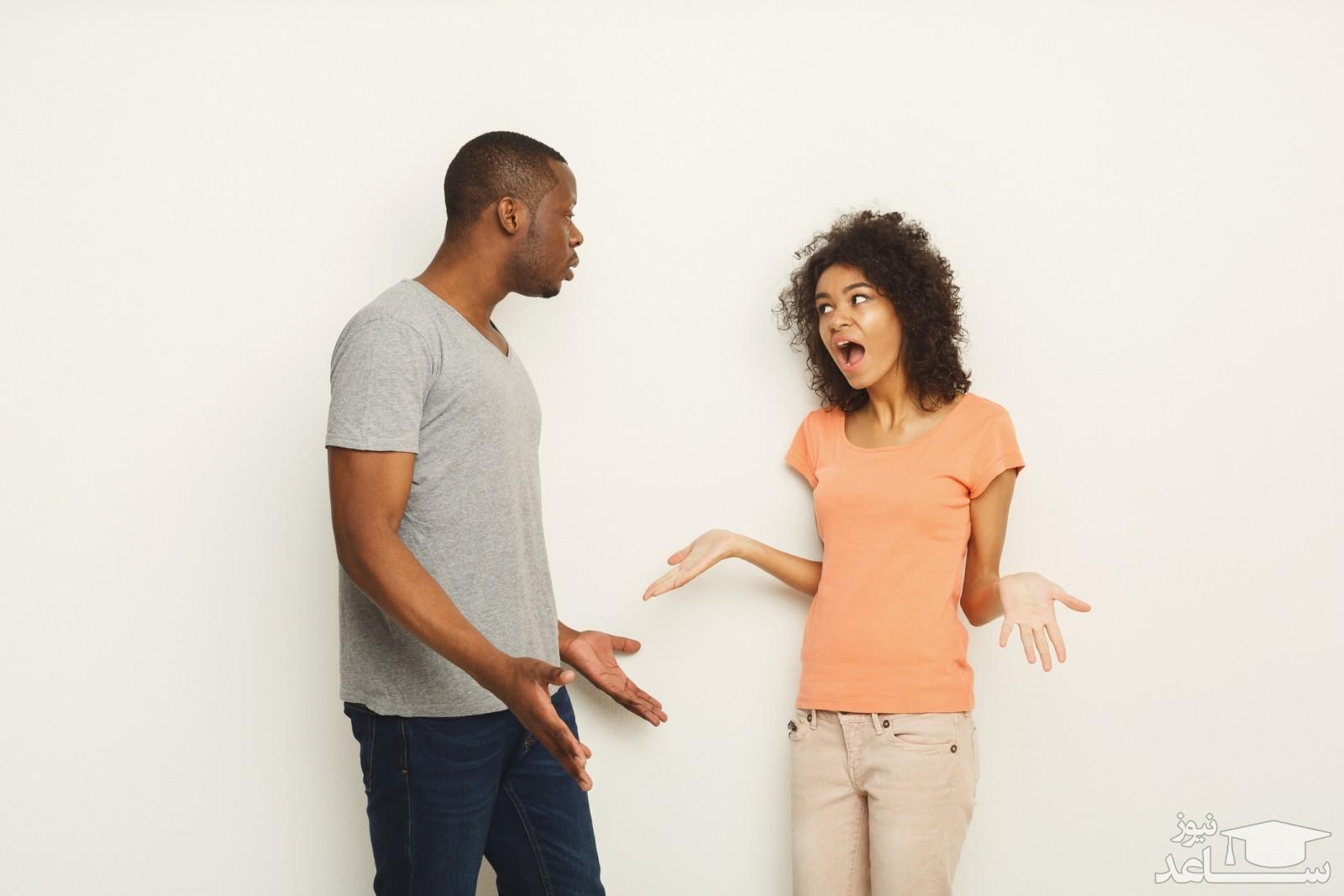 اصول جروبحث کردن با همسر