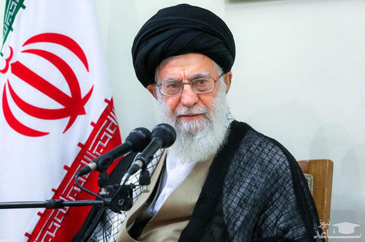 واکنش مقام معظم رهبری به حوادث خوزستان