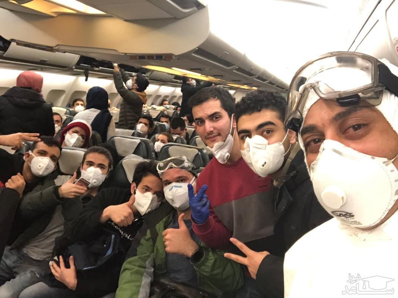 نتیجه تست ویروس کرونای دانشجویان بازگشته از چین اعلام شد +فیلم