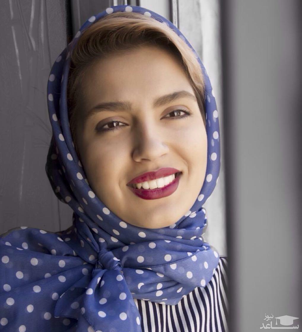 تیپ پاییزی مونا کرمی بازیگر از سرنوشت خارج از کشور