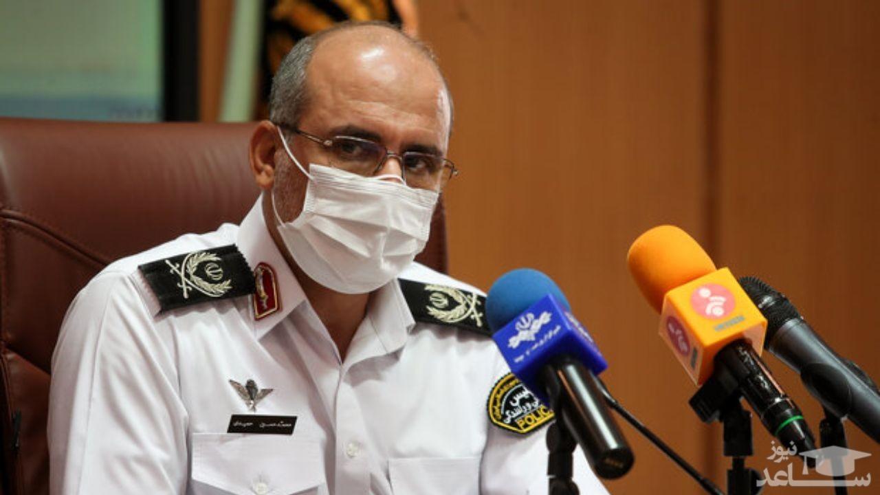 پلیس راهور تهران: کار سرباز ما کاملا درست بود