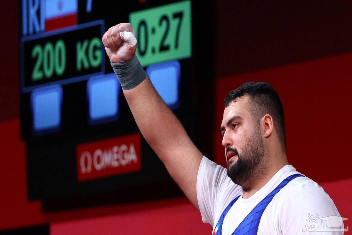 علی داودی در فوق سنگین المپیک 2020 توکیو صاحب نشان نقره شد!