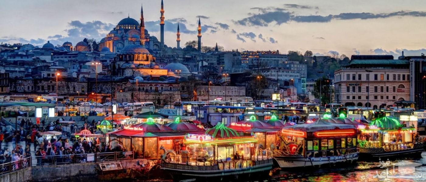 (عکس) زیباترین مسجد ترکیه، کار استادکاران ایرانی