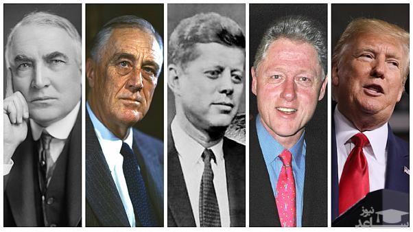 نگاهی به رسوایی جنسی ۵ رئیسجمهور آمریکا