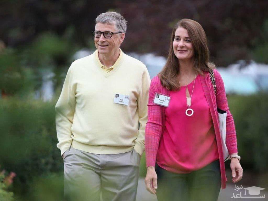 سهم همسر بیل گیتس پس از طلاق چقدر است؟