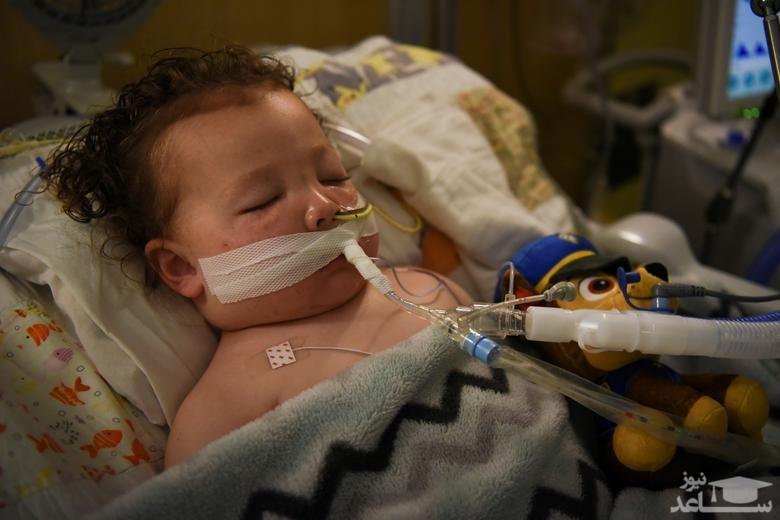 بستری شدن کودک 2 ساله آمریکایی به دلیل ابتلا به کرونا دربیمارستانی در ایالت میسوری/ رویترز