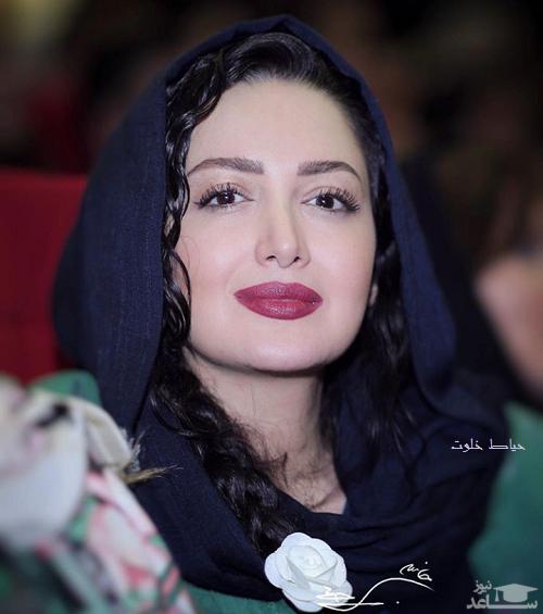 شیلا خداداد با روسری خاص ایرانی اش
