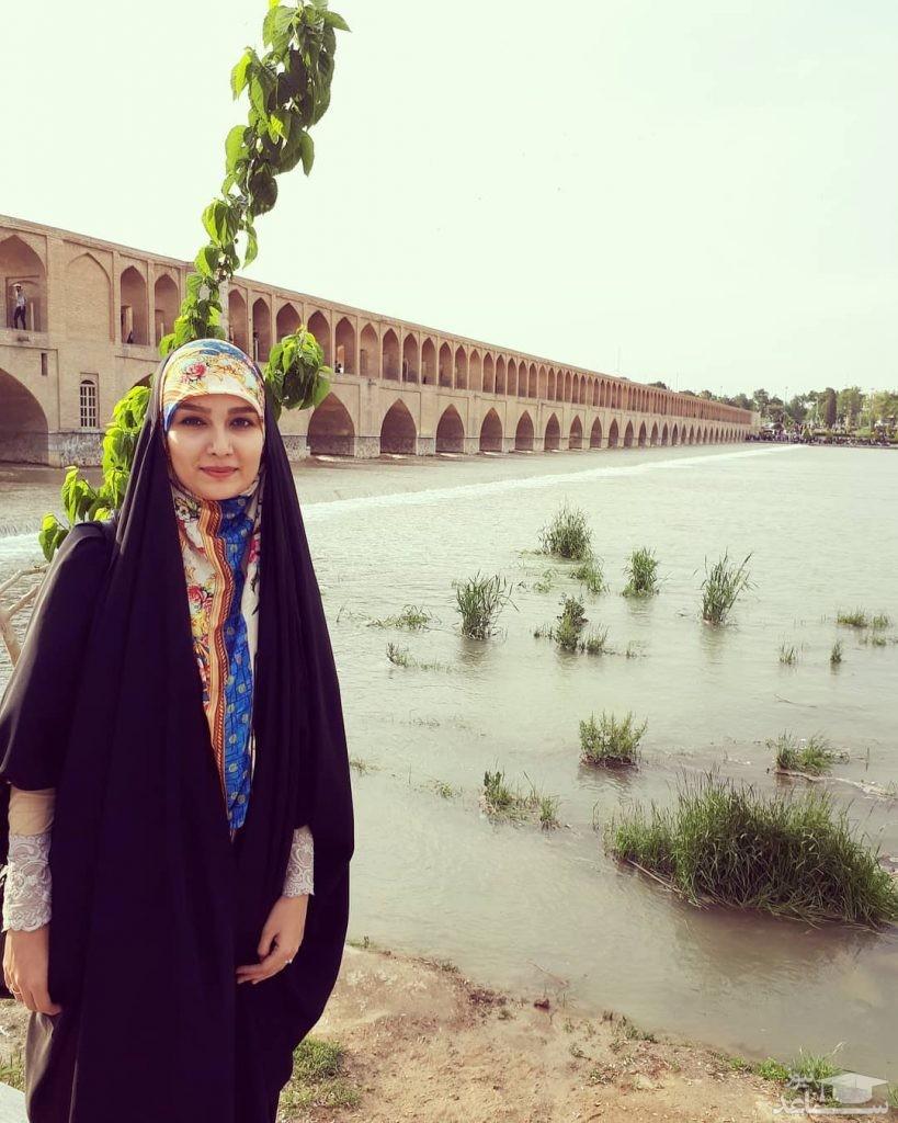 عاشقانه های مجری خوش حجاب تلویزیون در سالگرد ازدواجش