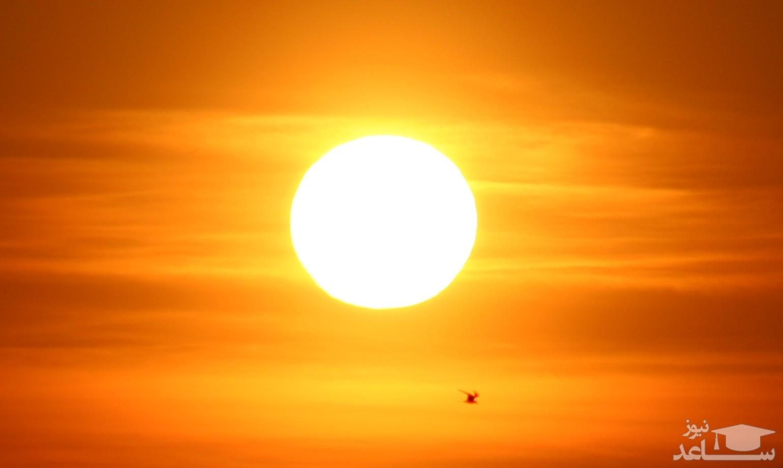 ثبت تصاویری زیبا از خورشید