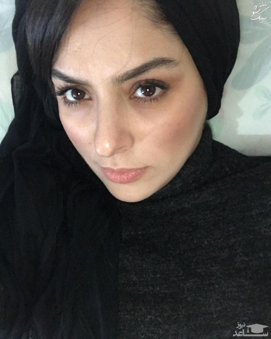 مارال بنی آدم بازیگر سریال همگناه و همسرش