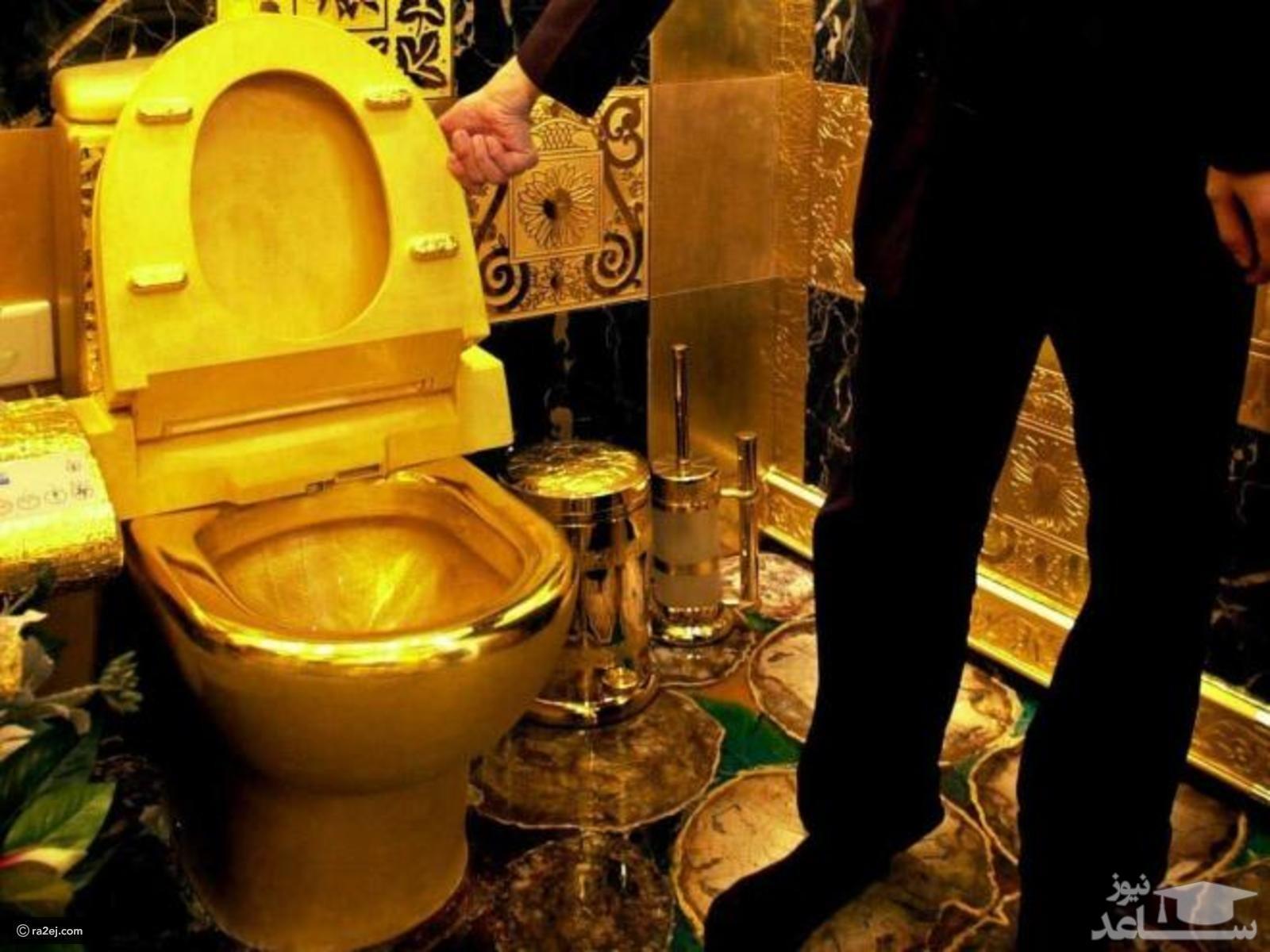 (عکس) دستمال توالتهای عجیب برای ثروتمندان