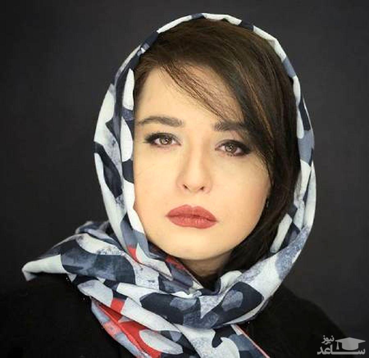 ماسک زدن به سبک مهراوه شریفی نیا