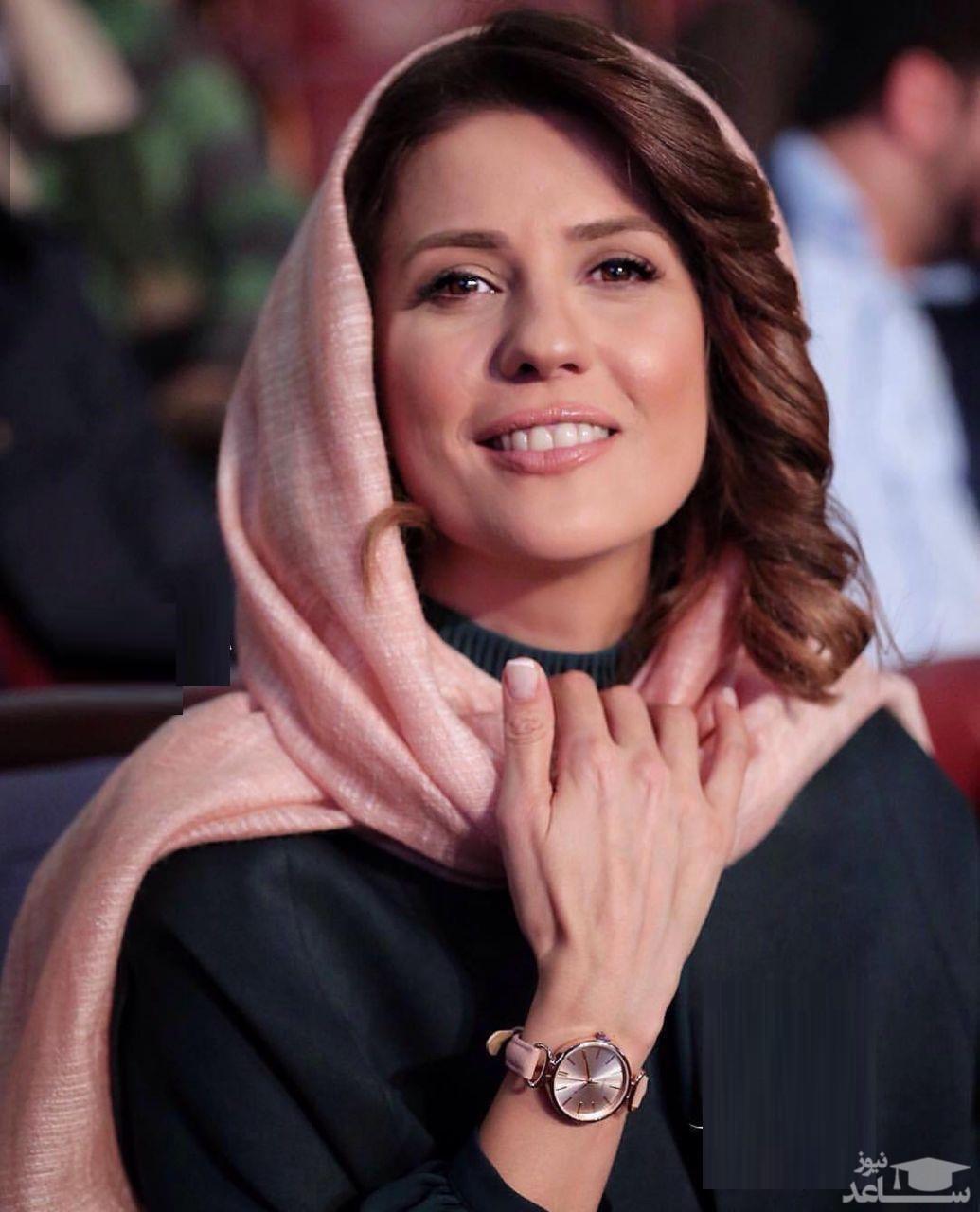 سارا بهرامی در جشن تولد پولاد کیمیایی