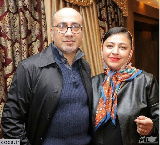 آخرین سلفی زنده یاد عارف لرستانی و همسرش