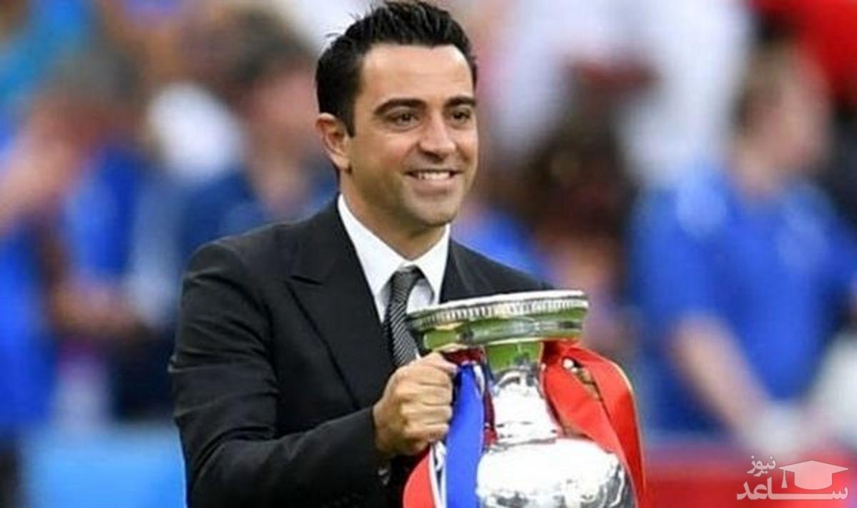 ژاوی پیشنهاد بارسلونا را پذیرفت