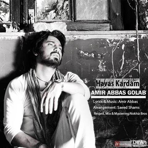 دانلود آهنگ هوس کردم از امیر عباس گلاب