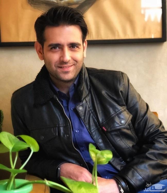 سلفی جدید امیرحسین آرمان در خانه اش