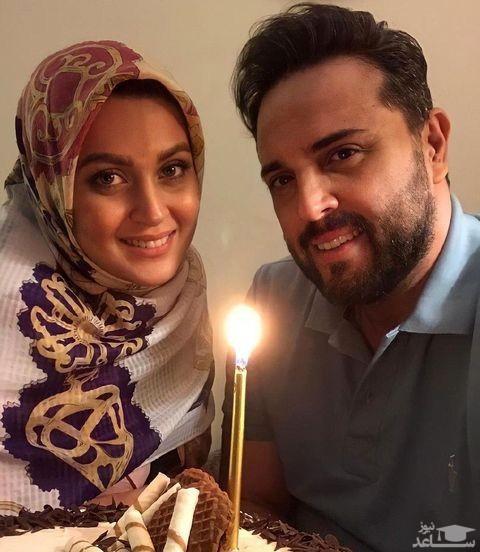جشن تولد پدرام کریمی و همسرش