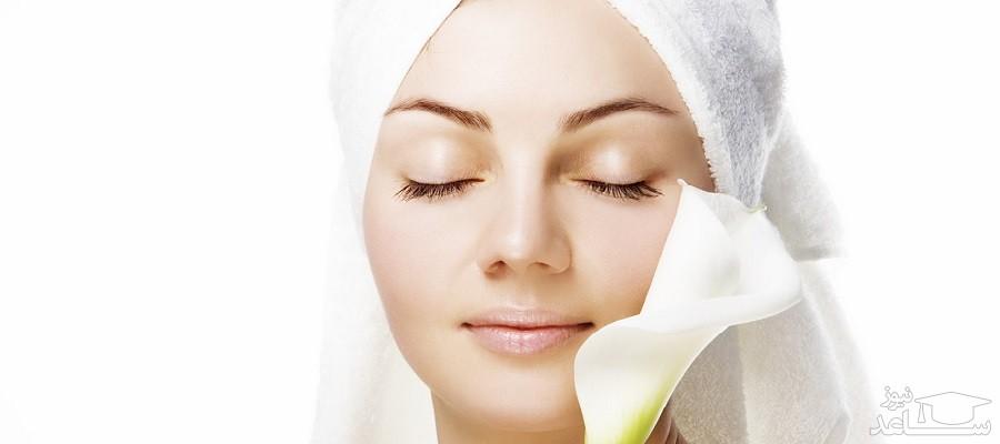 مزایای استفاده روزانه از شیر خام برای پوست