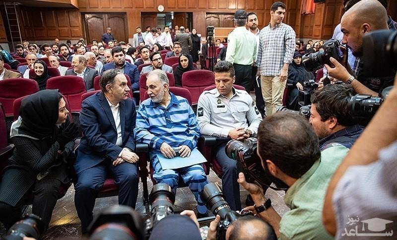 حضور علی دایی در سومین جلسه دادگاه شهردار اسبق تهران!