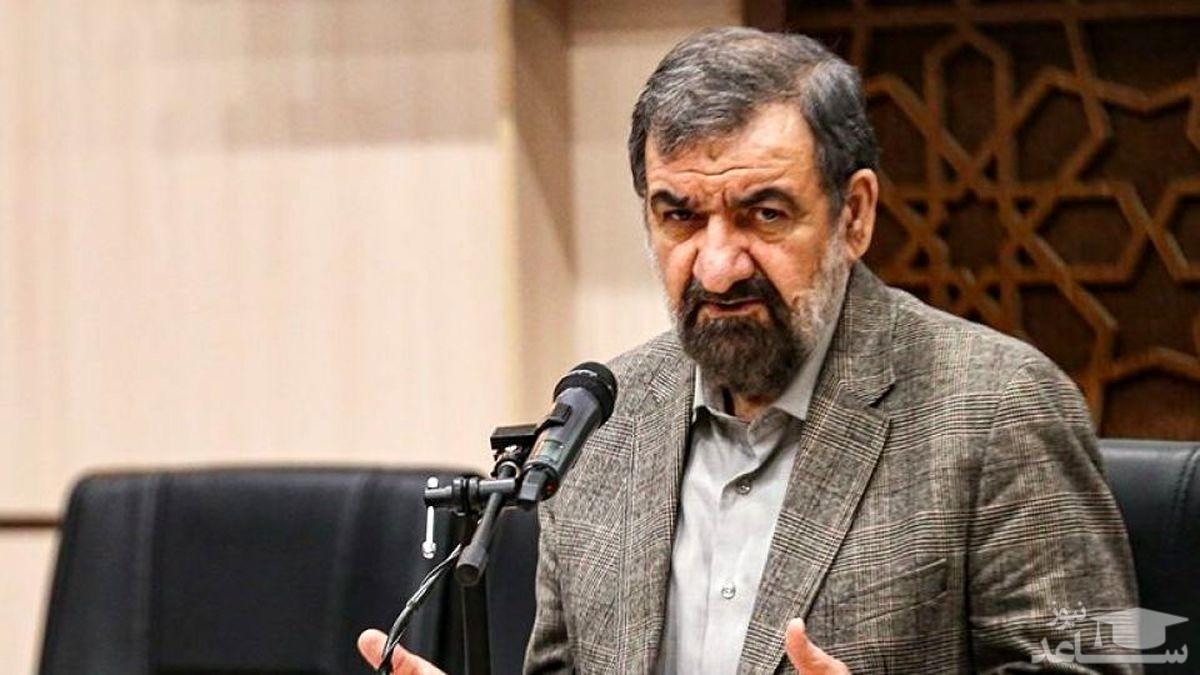 محسن رضایی از احمدی نژاد تشکر کرد!