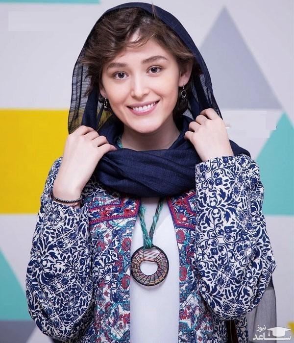 تیپ عجیب فرشته حسینی در جشنواره خارجی