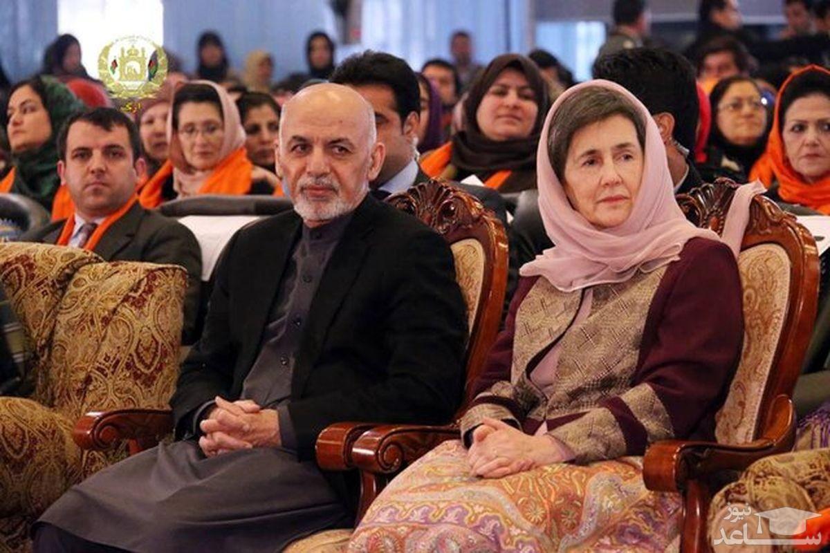 حضور رئیسجمهور افغانستان و همسرش در یکی از رستوران های کابل