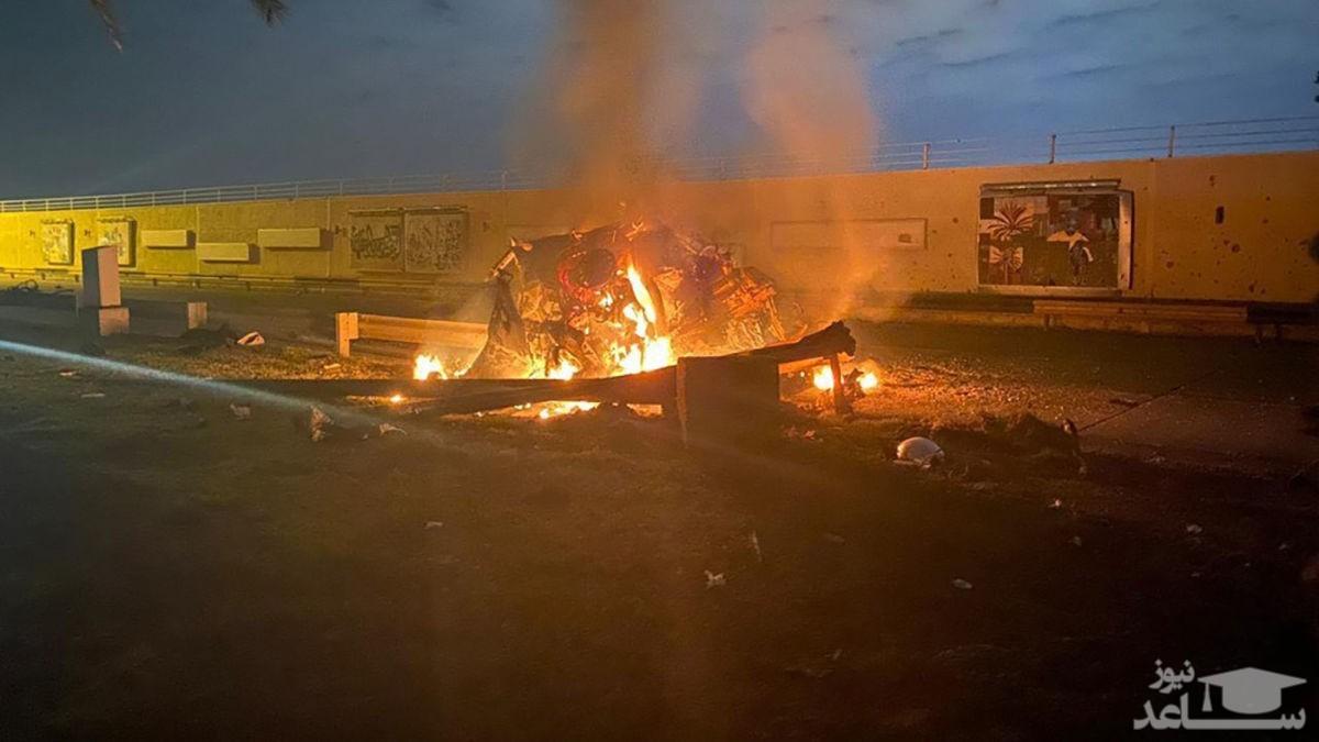 اصابت تعدادی راکت موشکی به پایگاه نیروهای آمریکایی در مجاورت فرودگاه بین المللی بغداد