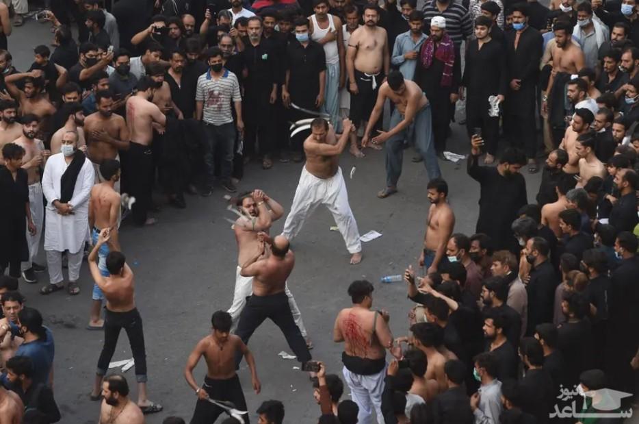 عزاداری شیعیان پاکستان در سالگرد شهادت امام علی (ع)