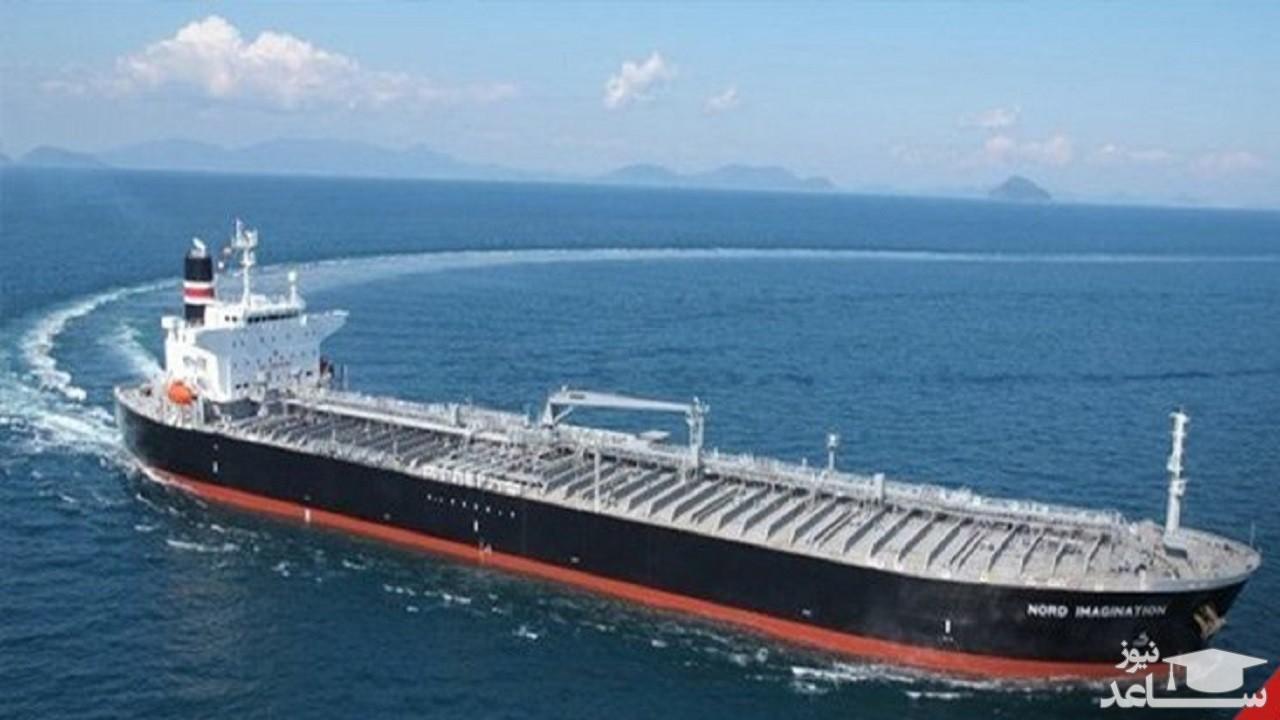 موقعیت نفتکشهای ایرانی در مسیر ونزوئلا