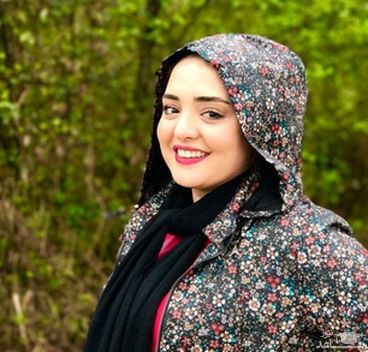 تبریک متفاوت نرگس محمدی