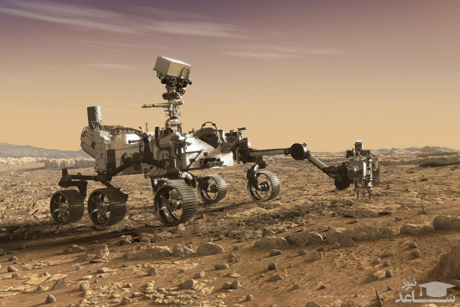ناسا تصاویری با جزئیات بالا از سطح مریخ منتشر کرد