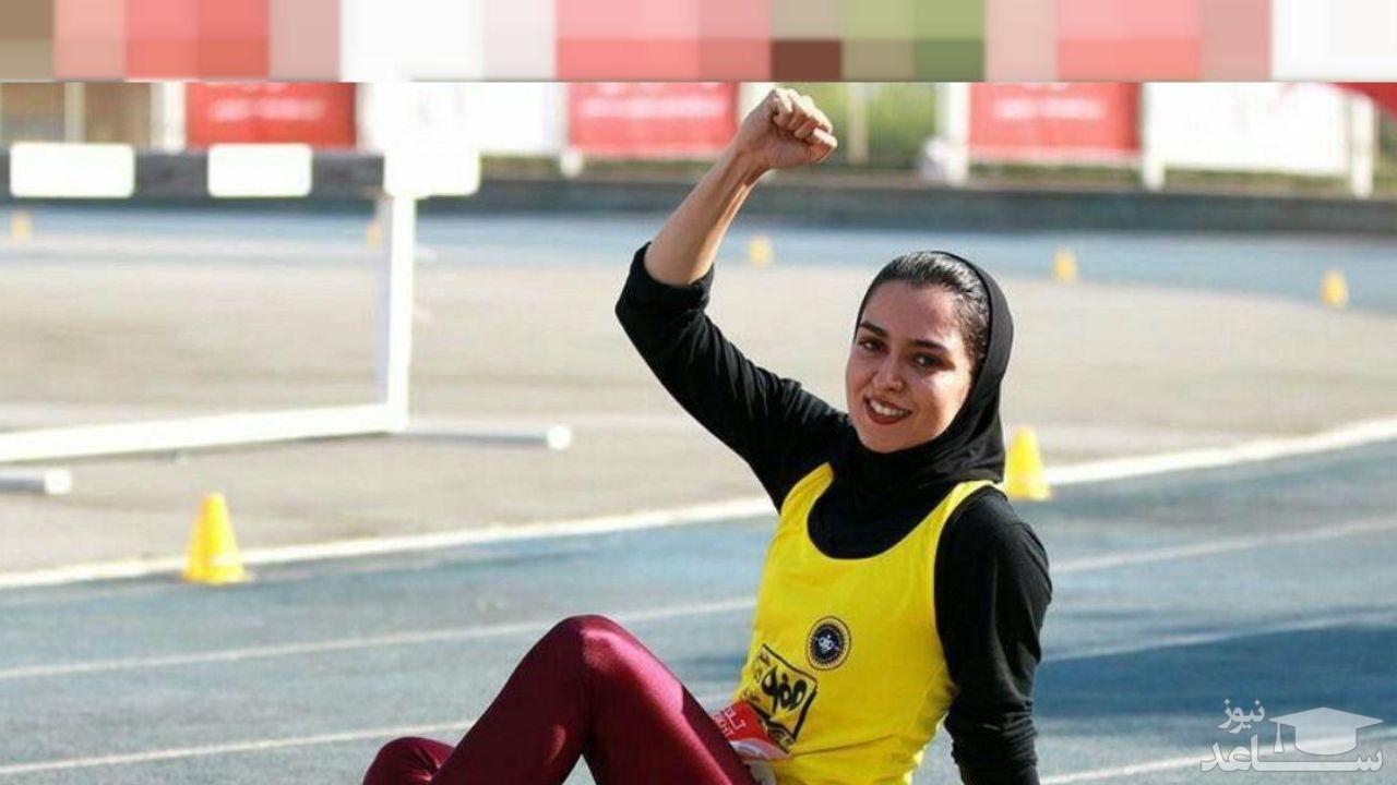 سریعترین دختر ایران لژیونر شد