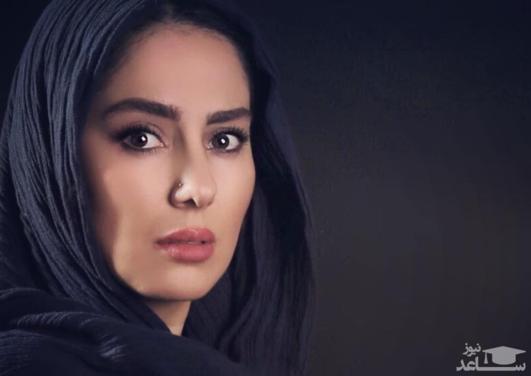 طبیعت گردی شیدا یوسفی، بازیگر نون خ