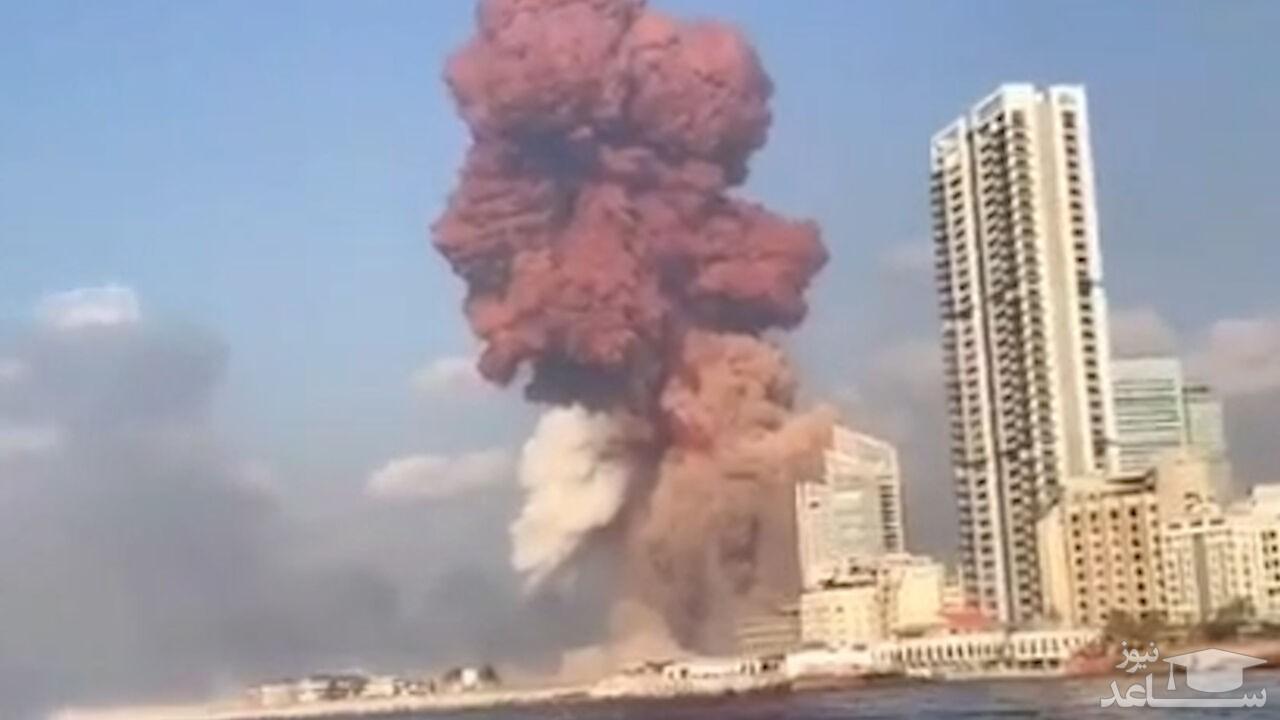 (عکس) انسانهایی که موج انفجار آنها را به آسمان برد