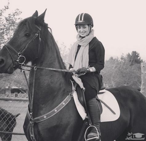 اسب سواری نفیسه روشن