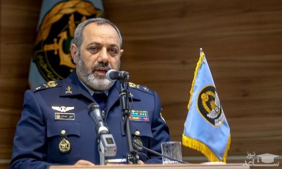 فرمانده نیروی هوایی ارتش: پاسخ رفتارهای تروریستی را با قدرت میدهیم
