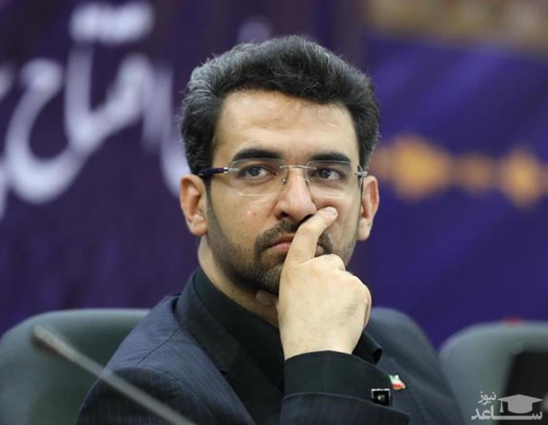 ترقه بازی وزیر جوان در همدان