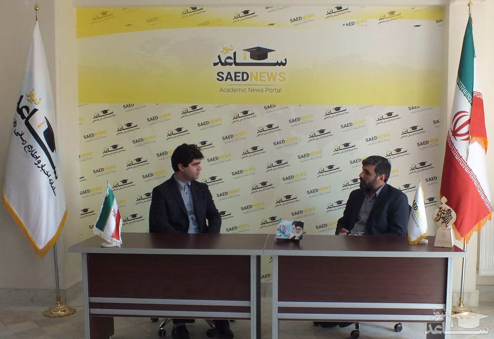 گزارش تصویری از بازدید جناب آقای دکتری بصیری (ریاست محترم بسیج رسانه کشور) از پایگاه خبری ساعدنیوز