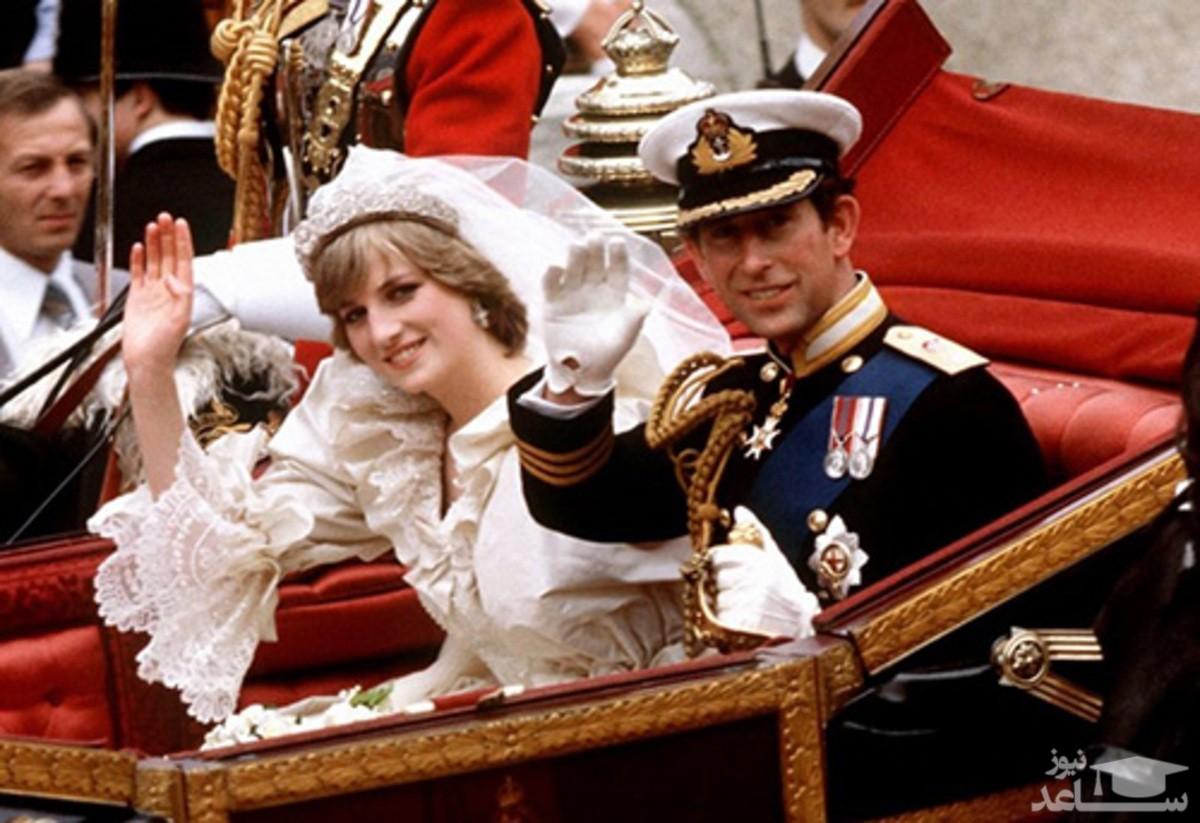 حراج کیک عروسی پرنسس دایانا پس از ۴۰ سال!