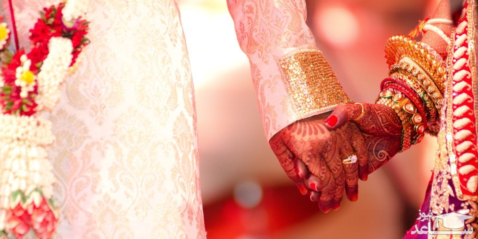 (فیلم) اقدام عجیب عروس و داماد در جشن عروسی!