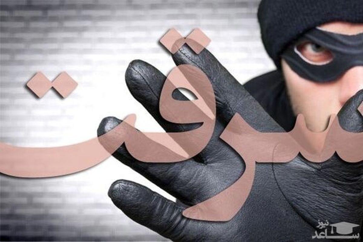 (فیلم) سرقت وحشیانه ۳مرد مسلح از یک زن در دزفول