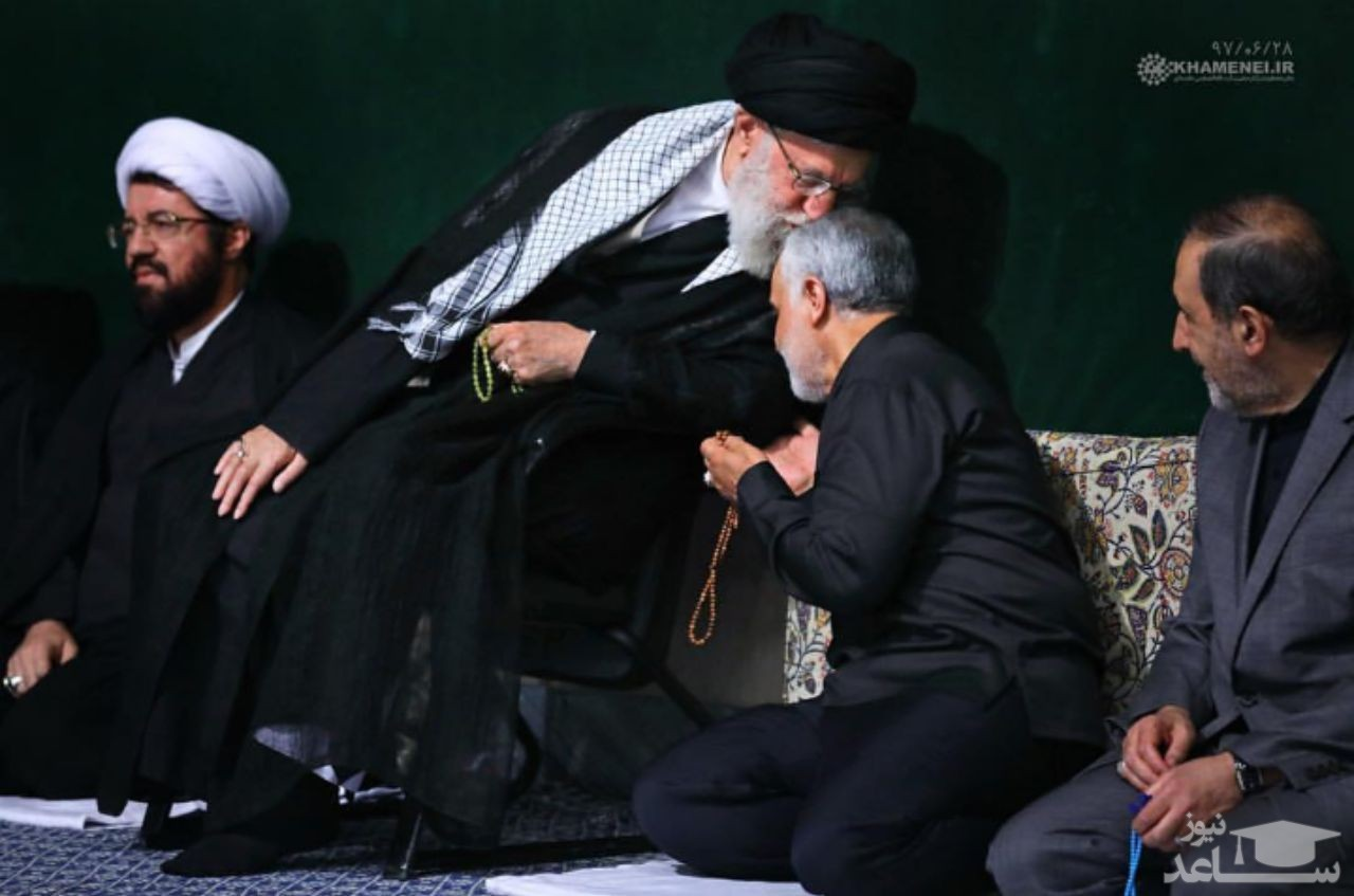 دعای رهبر انقلاب برای سردار سلیمانی