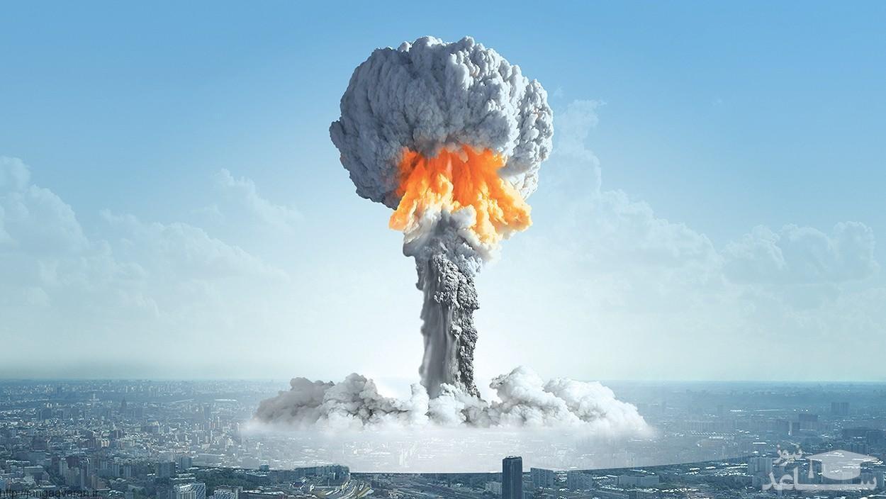 فیلم انفجار مهیب بمب به جا مانده از جنگ جهانی دوم