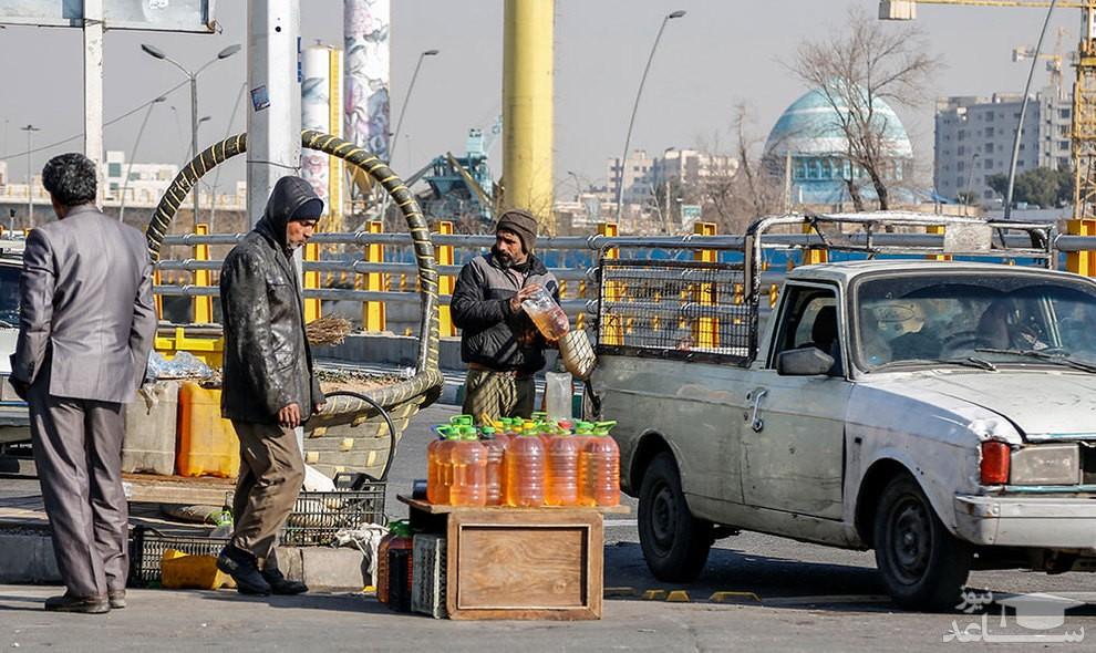(عکس) پمپ بنزینهای جدید تهران!