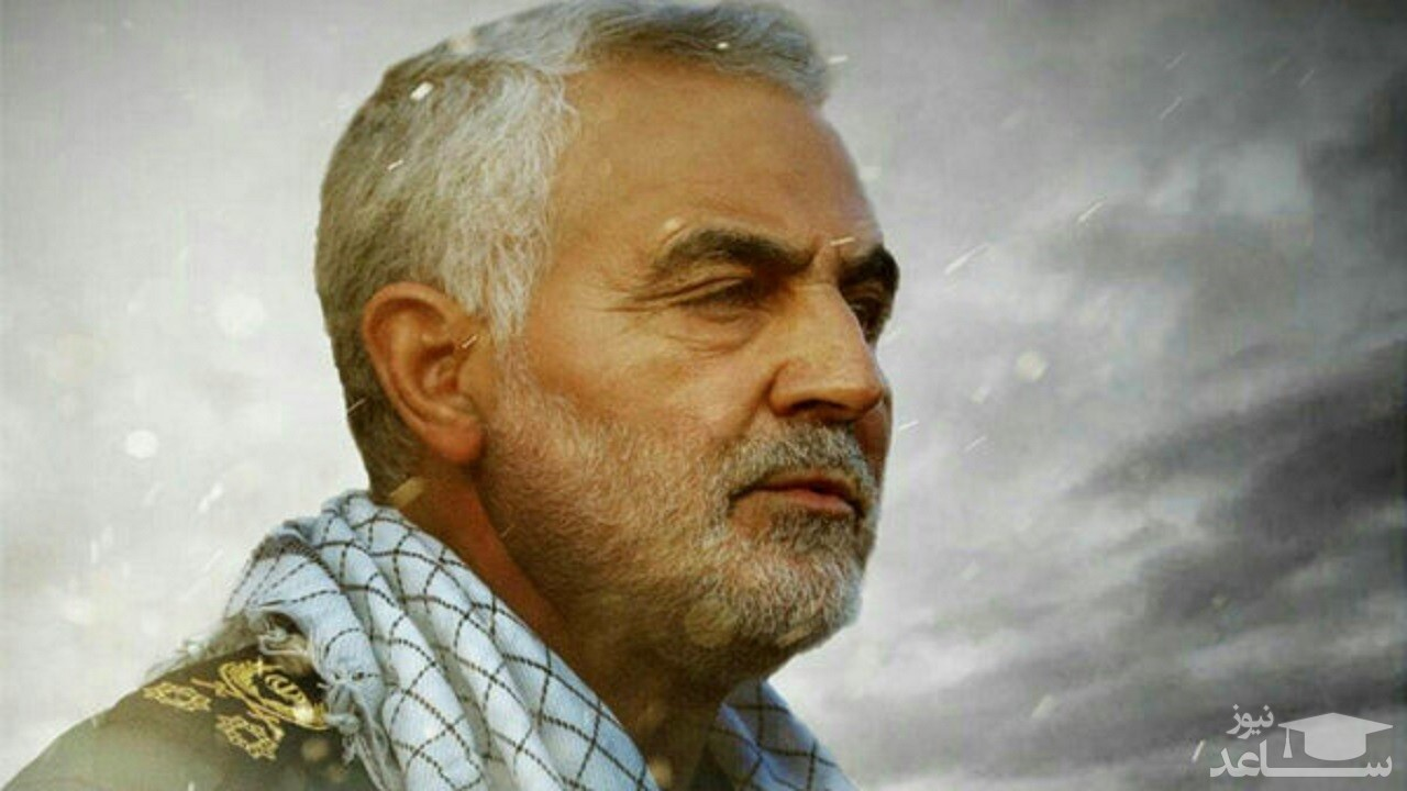 (عکس) حاج قاسم سلیمانی پس از شرکت در انتخابات سال ۱۳۹۶