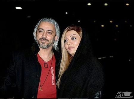 مازیار فلاحی و همسرش