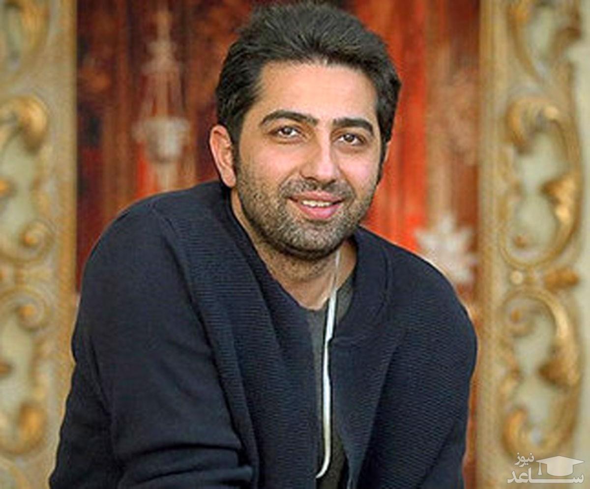 عاشقانه های علی سخنگو و همسرش در خانه شان