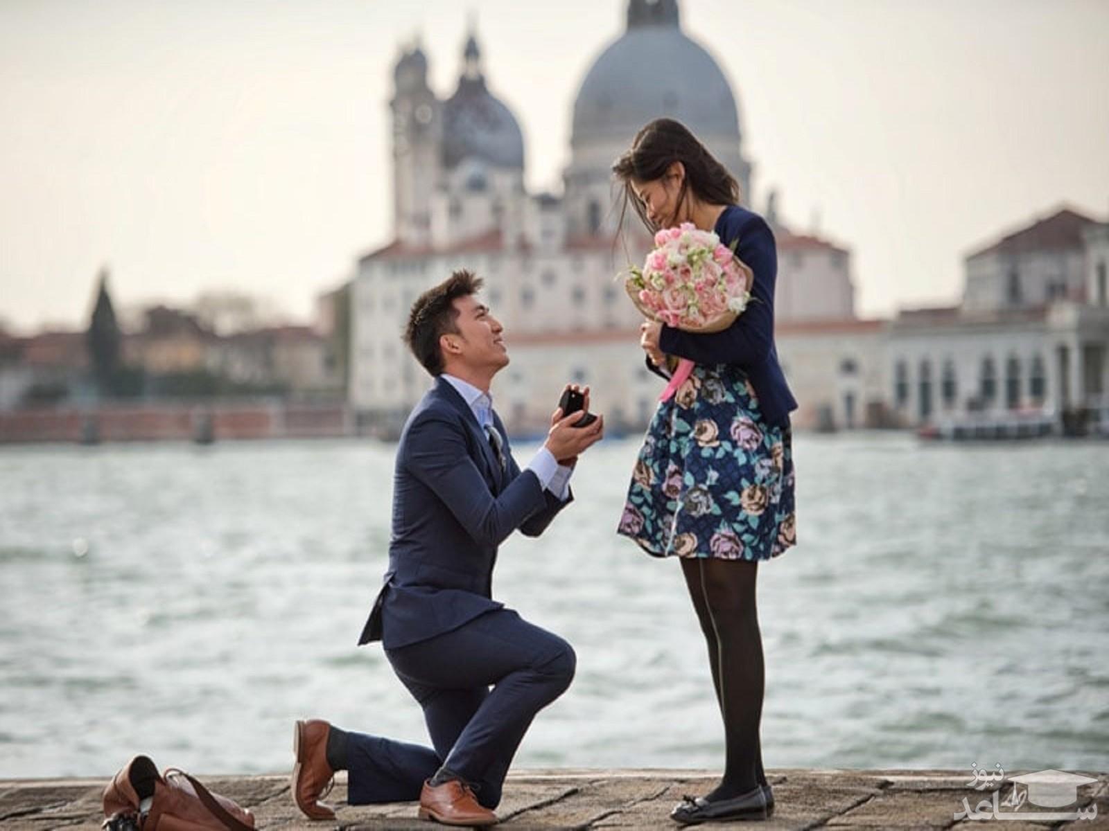 روش های رمانتیک برای دادن پیشنهاد ازدواج