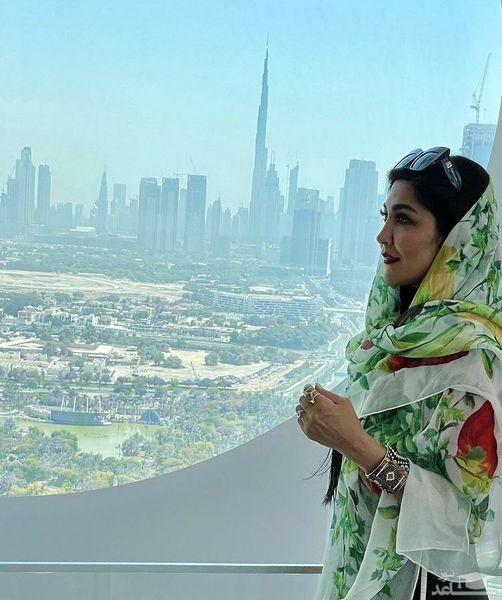 مریم معصومی در برج های دبی